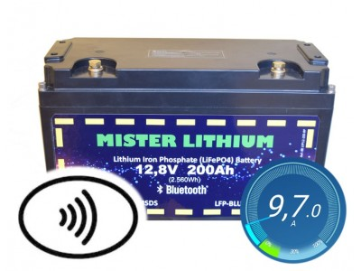 Batteries lithium LiFePO4