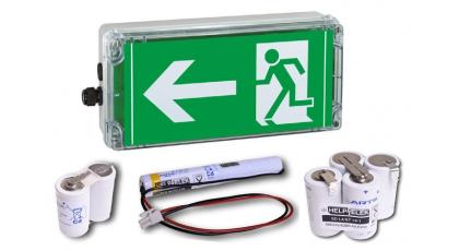 Batterie pour éclairage de secours
